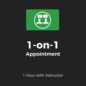 1-on-1 Appointment – Live Training